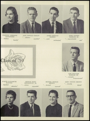 Page 13, 1959 Edition, Rankin High School - Garnet and Gold Yearbook (Greensboro, NC) online yearbook collection
