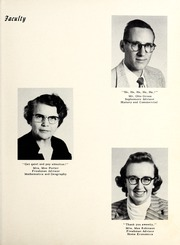 Page 11, 1956 Edition, Nebo High School - Pioneer Yearbook (Nebo, NC) online yearbook collection