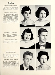 Page 17, 1956 Edition, Nebo High School - Pioneer Yearbook (Nebo, NC) online yearbook collection