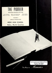 Page 3, 1956 Edition, Nebo High School - Pioneer Yearbook (Nebo, NC) online yearbook collection