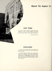 Page 4, 1956 Edition, Nebo High School - Pioneer Yearbook (Nebo, NC) online yearbook collection