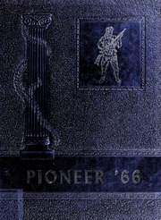 Nebo High School - Pioneer Yearbook (Nebo, NC) online yearbook collection, 1966 Edition, Page 1