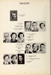 Page 10, 1953 Edition, New Hope High School - Nuhosca Yearbook (Goldsboro, NC) online yearbook collection