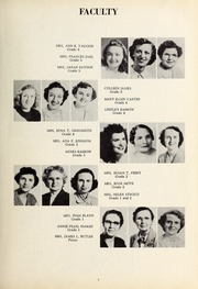 Page 11, 1953 Edition, New Hope High School - Nuhosca Yearbook (Goldsboro, NC) online yearbook collection