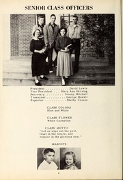 Page 12, 1953 Edition, New Hope High School - Nuhosca Yearbook (Goldsboro, NC) online yearbook collection