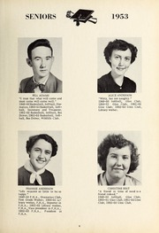 Page 13, 1953 Edition, New Hope High School - Nuhosca Yearbook (Goldsboro, NC) online yearbook collection