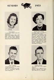 Page 14, 1953 Edition, New Hope High School - Nuhosca Yearbook (Goldsboro, NC) online yearbook collection