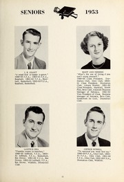 Page 15, 1953 Edition, New Hope High School - Nuhosca Yearbook (Goldsboro, NC) online yearbook collection