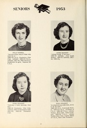 Page 16, 1953 Edition, New Hope High School - Nuhosca Yearbook (Goldsboro, NC) online yearbook collection