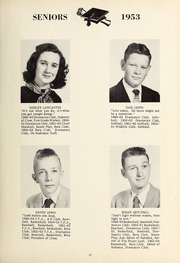 Page 17, 1953 Edition, New Hope High School - Nuhosca Yearbook (Goldsboro, NC) online yearbook collection