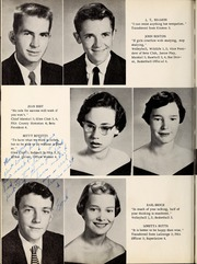 Page 12, 1957 Edition, New Hope High School - Nuhosca Yearbook (Goldsboro, NC) online yearbook collection