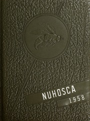 1958 Edition, New Hope High School - Nuhosca Yearbook (Goldsboro, NC)