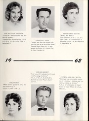 Page 17, 1962 Edition, New Hope High School - Nuhosca Yearbook (Goldsboro, NC) online yearbook collection