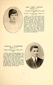 Page 11, 1916 Edition, Wingate School - X Ray Yearbook (Wingate, NC) online yearbook collection