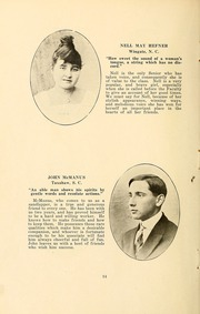 Page 16, 1916 Edition, Wingate School - X Ray Yearbook (Wingate, NC) online yearbook collection