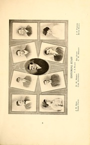 Page 7, 1916 Edition, Wingate School - X Ray Yearbook (Wingate, NC) online yearbook collection