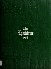 1951 Edition, Carthage High School - Egahtrac Yearbook (Carthage, NC)