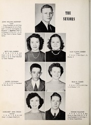 Page 10, 1951 Edition, Carthage High School - Egahtrac Yearbook (Carthage, NC) online yearbook collection