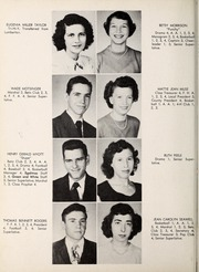 Page 12, 1951 Edition, Carthage High School - Egahtrac Yearbook (Carthage, NC) online yearbook collection