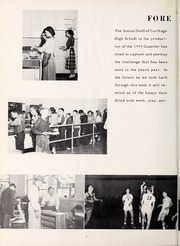 Page 6, 1953 Edition, Carthage High School - Egahtrac Yearbook (Carthage, NC) online yearbook collection