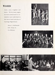 Page 7, 1953 Edition, Carthage High School - Egahtrac Yearbook (Carthage, NC) online yearbook collection