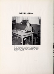 Page 8, 1953 Edition, Carthage High School - Egahtrac Yearbook (Carthage, NC) online yearbook collection