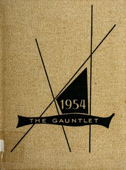 1954 Edition, Carthage High School - Egahtrac Yearbook (Carthage, NC)