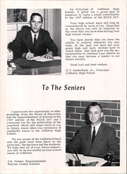 Page 10, 1967 Edition, Littleton High School - Blue Jay Yearbook (Littleton, NC) online yearbook collection