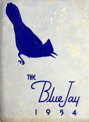 Page 1, 1954 Edition, Jonesville High School - Blue Jay Yearbook (Jonesville, NC) online yearbook collection