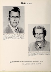 Page 10, 1959 Edition, Jonesville High School - Blue Jay Yearbook (Jonesville, NC) online yearbook collection