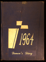 1964 Edition, Deep River High School - Demons Diary Yearbook (Sanford, NC)