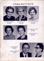 Page 10, 1964 Edition, Deep River High School - Demons Diary Yearbook (Sanford, NC) online yearbook collection