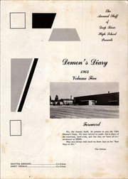 Page 5, 1964 Edition, Deep River High School - Demons Diary Yearbook (Sanford, NC) online yearbook collection