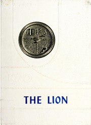 1970 Edition, Shepard High School - Lion Yearbook (Zebulon, NC)