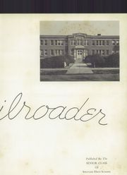 Page 7, 1950 Edition, Spencer High School - Railroader Yearbook (Spencer, NC) online yearbook collection
