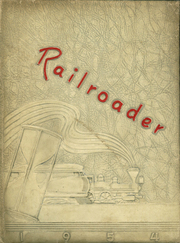 Page 1, 1954 Edition, Spencer High School - Railroader Yearbook (Spencer, NC) online yearbook collection