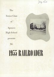 Page 5, 1955 Edition, Spencer High School - Railroader Yearbook (Spencer, NC) online yearbook collection