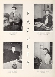 Page 12, 1953 Edition, Happy Valley High School - Aquila Yearbook (Patterson, NC) online yearbook collection