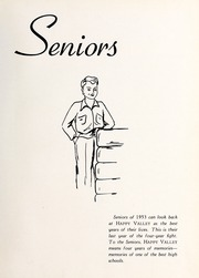 Page 13, 1953 Edition, Happy Valley High School - Aquila Yearbook (Patterson, NC) online yearbook collection