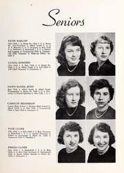 Page 15, 1953 Edition, Happy Valley High School - Aquila Yearbook (Patterson, NC) online yearbook collection