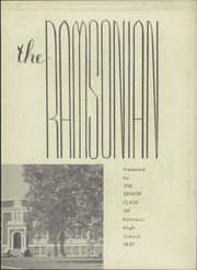 Page 3, 1957 Edition, Ramseur High School - Ramsonian Yearbook (Ramseur, NC) online yearbook collection
