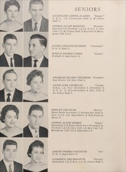 Page 16, 1959 Edition, Mebane High School - Furmacotto Yearbook (Mebane, NC) online yearbook collection