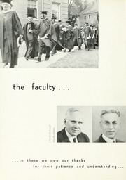 Page 20, 1952 Edition, North Park University - Cupola Yearbook (Chicago, IL) online yearbook collection