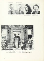 Page 28, 1952 Edition, North Park University - Cupola Yearbook (Chicago, IL) online yearbook collection