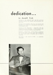 Page 8, 1952 Edition, North Park University - Cupola Yearbook (Chicago, IL) online yearbook collection