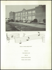 Page 5, 1954 Edition, Warsaw High School - Tiger Yearbook (Warsaw, NC) online yearbook collection