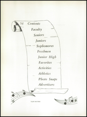 Page 6, 1954 Edition, Warsaw High School - Tiger Yearbook (Warsaw, NC) online yearbook collection