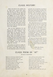Page 11, 1947 Edition, Seagrove High School - Se Hi Yearbook (Seagrove, NC) online yearbook collection