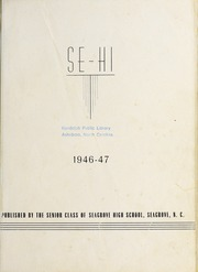 Page 3, 1947 Edition, Seagrove High School - Se Hi Yearbook (Seagrove, NC) online yearbook collection