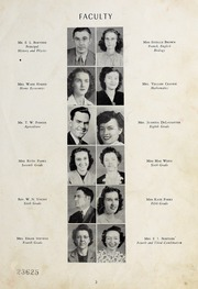 Page 5, 1947 Edition, Seagrove High School - Se Hi Yearbook (Seagrove, NC) online yearbook collection